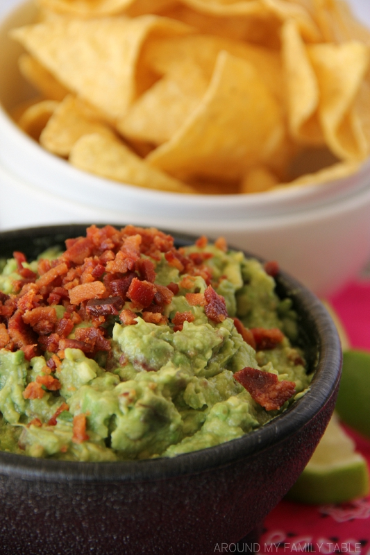 The best dang GUACAMOLE on the planet....because it's got BACON in it!