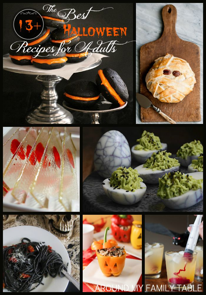 Who says Halloween has to be about the kiddos? You'll enjoy this collection of The Best Halloween Recipes for Adults.