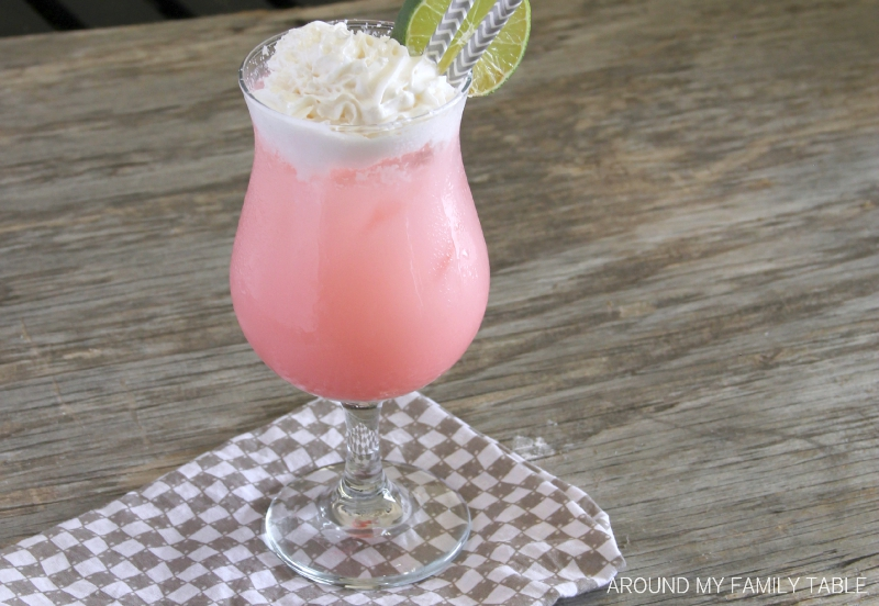 Coconut Cherry Lime Italian Cream Sodas