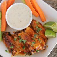 Honey Sriracha Chicken Wings Recipe