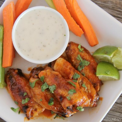 Honey Sriracha Chicken Wings Recipe