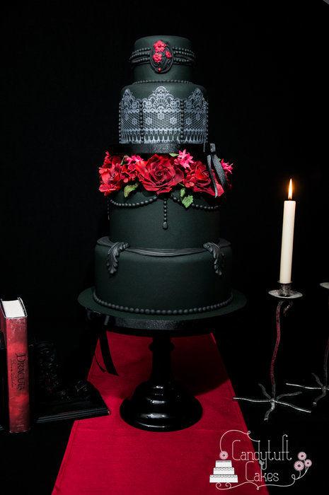 Gothic Elegance Cake