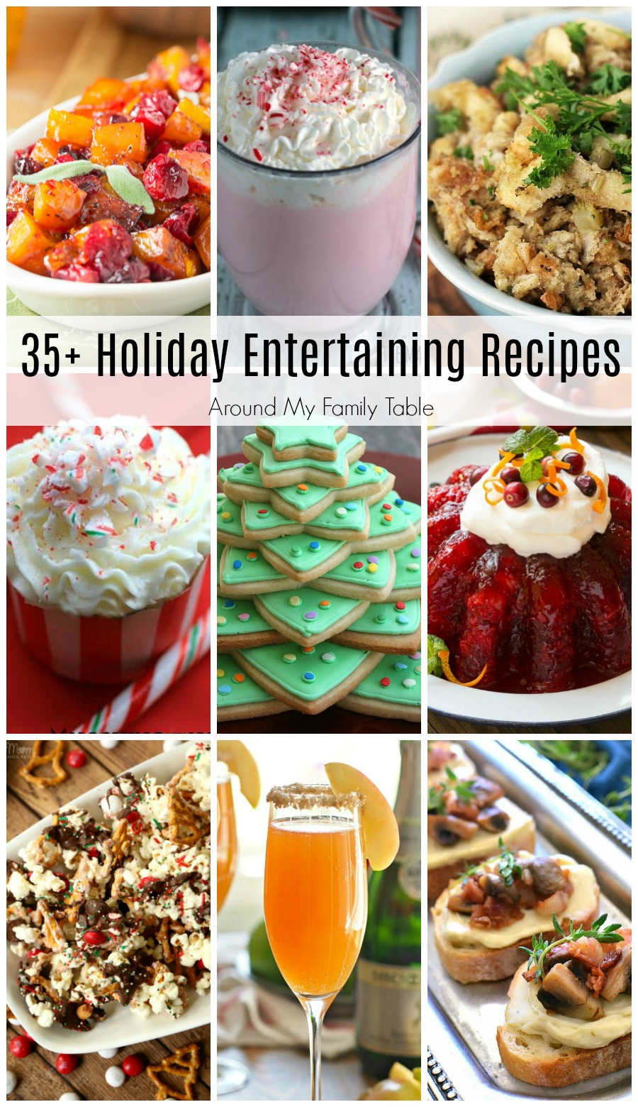 I'm always on the hunt for great holiday entertaining recipes. These 35+ Holiday Entertaining Recipes are perfect for any party that you are planning on hosting or attending this year!