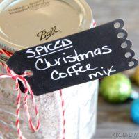 Spiced Christmas Coffee Mix
