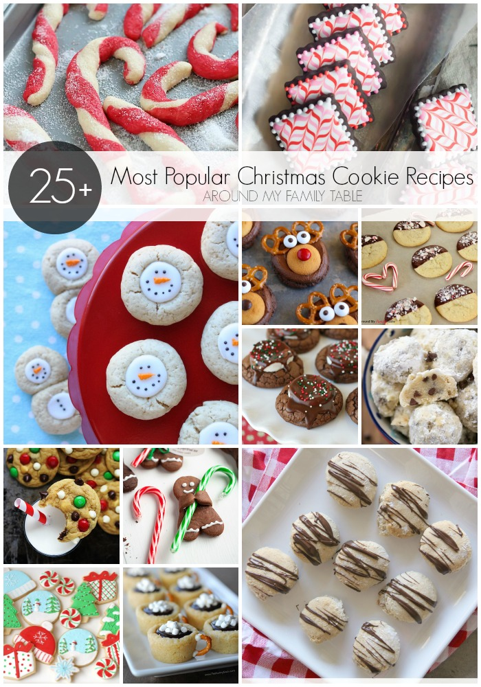 25 of the Most Popular Christmas Cookie Recipes
