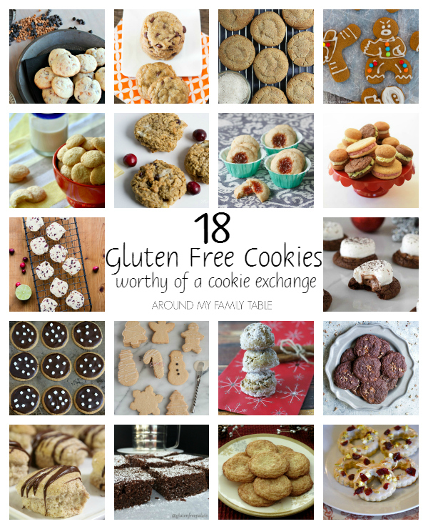 18 Holiday Cookie Exchange worthy Gluten Free Cookies
