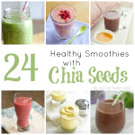 24 Healthy Smoothies with Chia Seeds