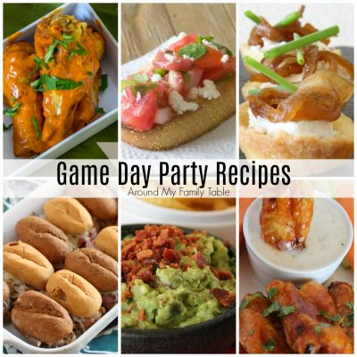 Game Day Party Recipes