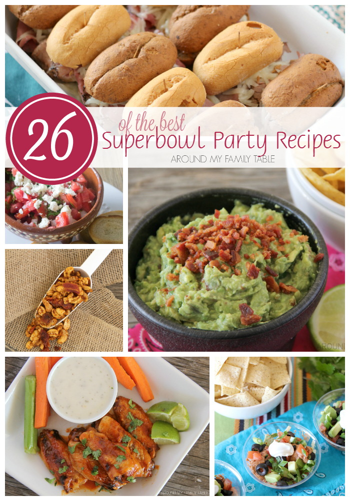 The biggest game of the year is coming soon, so it's time to start planning for the best Superbowl Party Recipes.