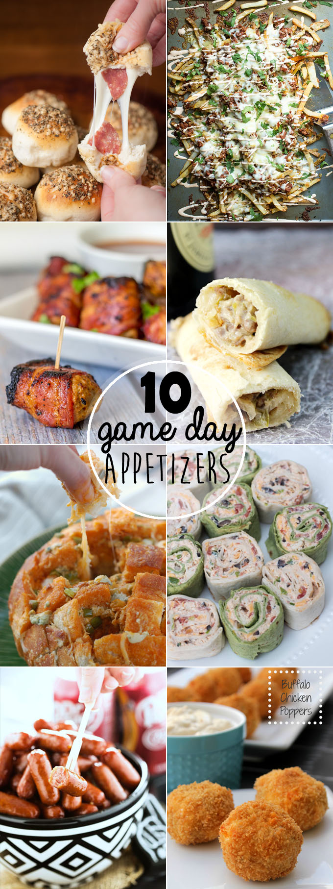 Which of these delicious & easy game day appetizers will you serve at your next party?