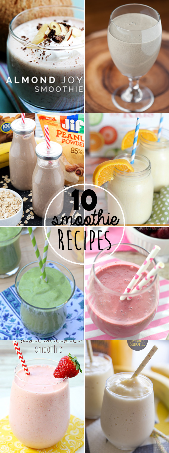 Top 10 Healthy Smoothies for Breakfast