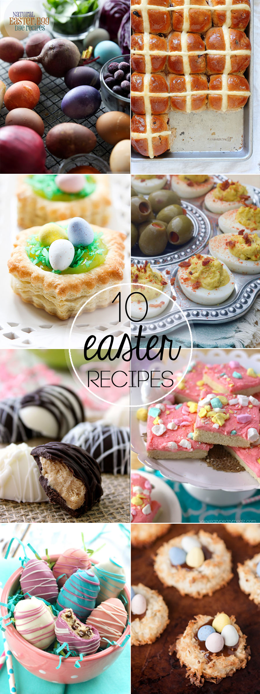 10 beautiful Easter Recipes to complete your holiday meal!