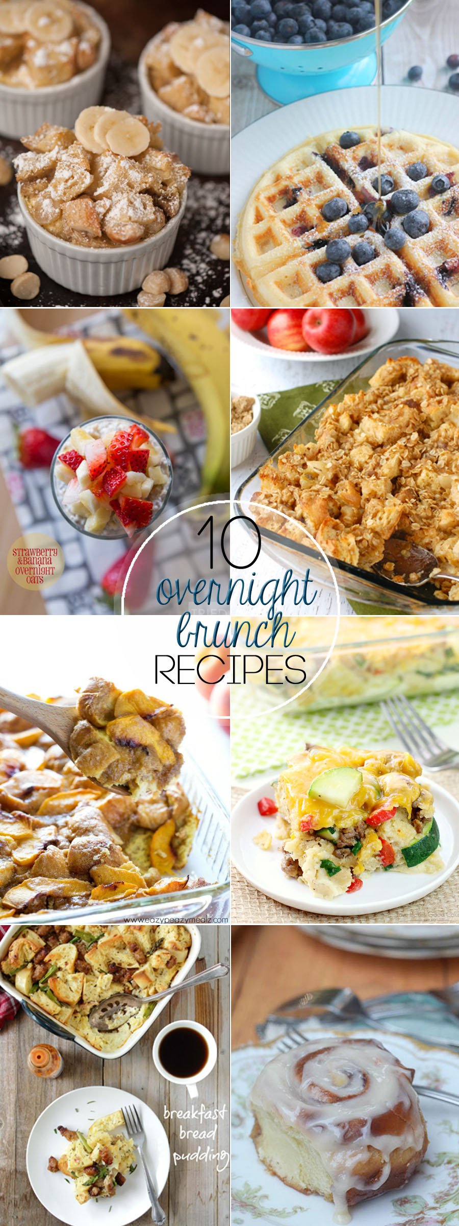 Is there anything better than waking up in the morning to an amazing breakfast that cooked all night long? I love these 10 Overnight Brunch recipes....they are definitely some of my family's favorites!