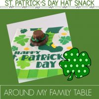 Leprechaun Hat Snack Activity