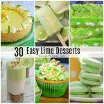 25 Lime Desserts