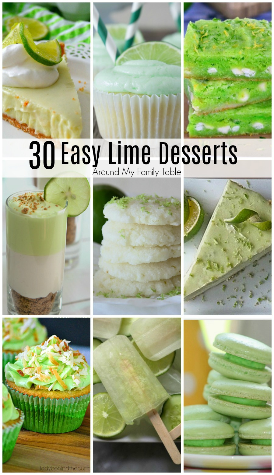 These 30 easy lime desserts are sure to hit the spot this summer when you crave a cool treat.