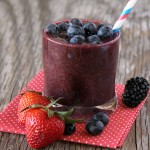 Triple Berry Smoothies