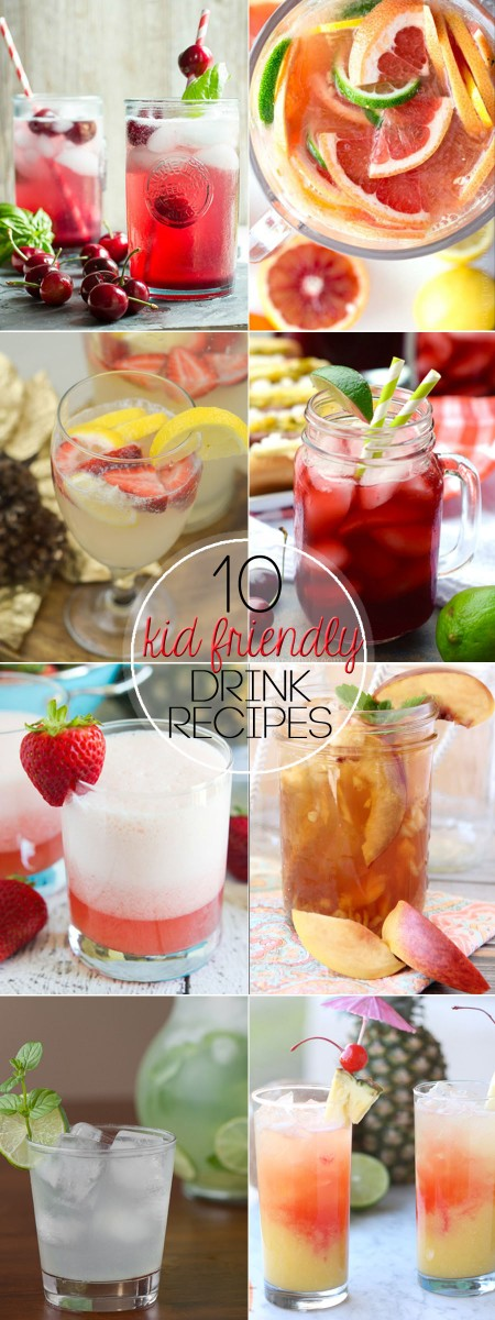 Sip on one of these Kid-Friendly Summer Drinks for a refreshing and cool way to quench your thirst this summer.
