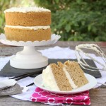 Earl Grey Cake with Vanilla Bean Frosting