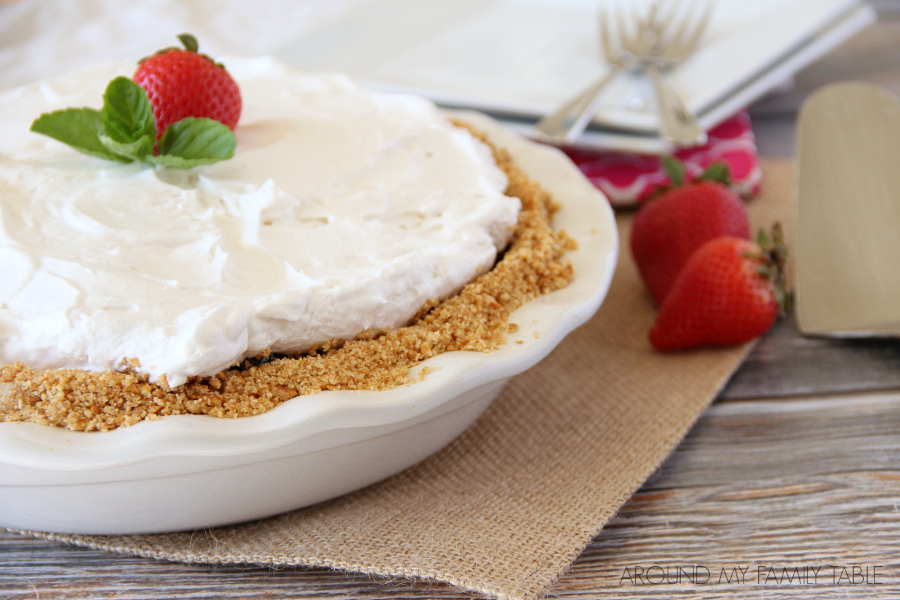 Once you discover how easy no-bake pies are...it's hard not to come up with new creations. This NO-BAKE TRIPLE BERRY PIE has a pretzel crust and is ready after a couple hours in the fridge.