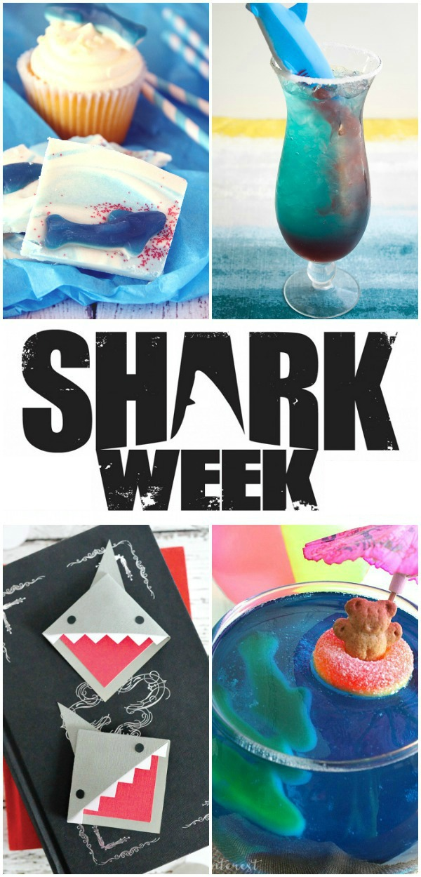 Take a bite out of SHARK WEEK with these fun party ideas.