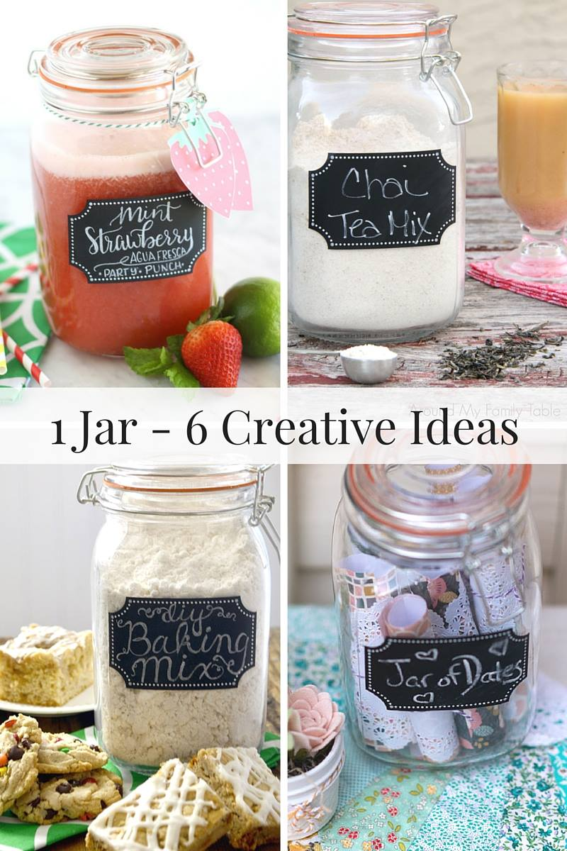 1 jar -- 6 creative ideas