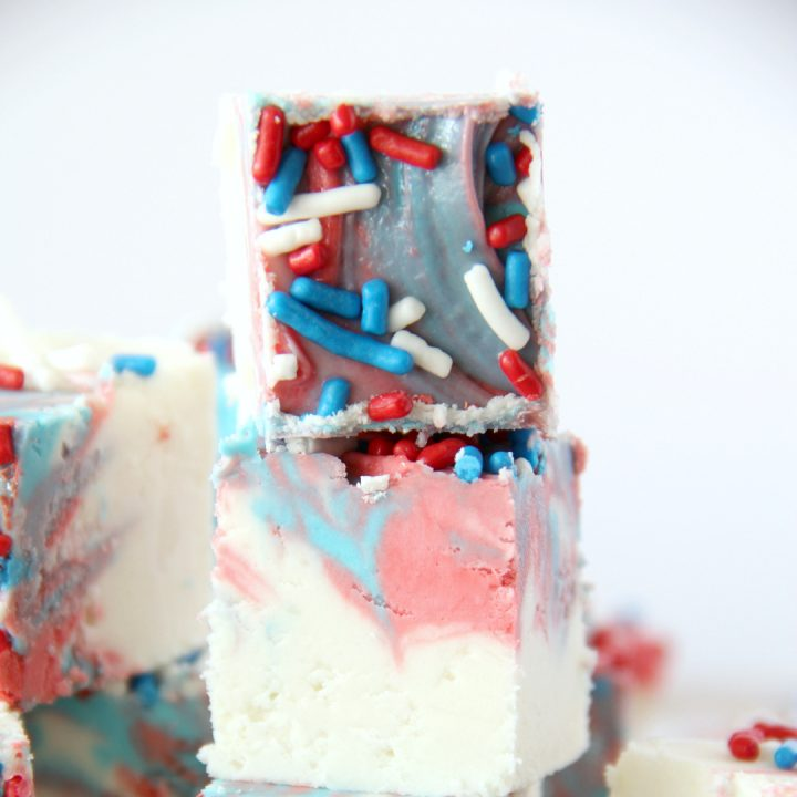 Red White and Blue Fudge