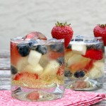 Red White and Blue Sparkling Cider