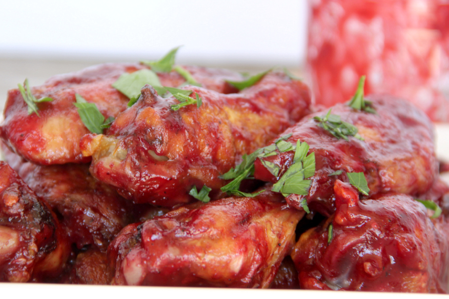 You're sure to love these gorgeous Blackberry BBQ Sticky Wings. A tasty spin on the traditional.