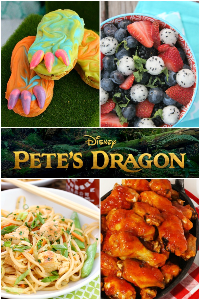Host the perfect Pete's Dragon Party with these delicious recipes!