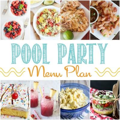 Perfect Pool Party Menu