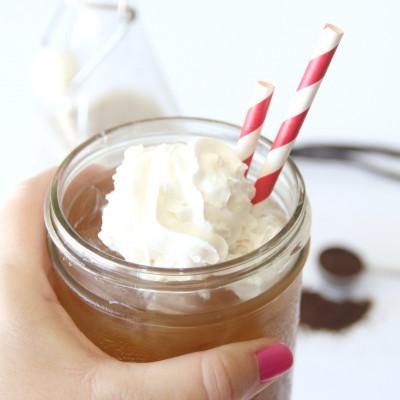 Iced Vanilla Bean Coffee
