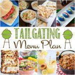 Game Day Tailgaiting Menu
