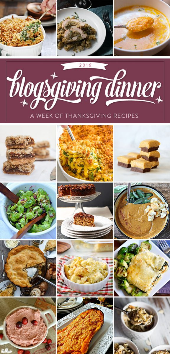 Thanksgiving is all about family, friends, and of course delicious food. 20 delicious Thanksgiving recipes!