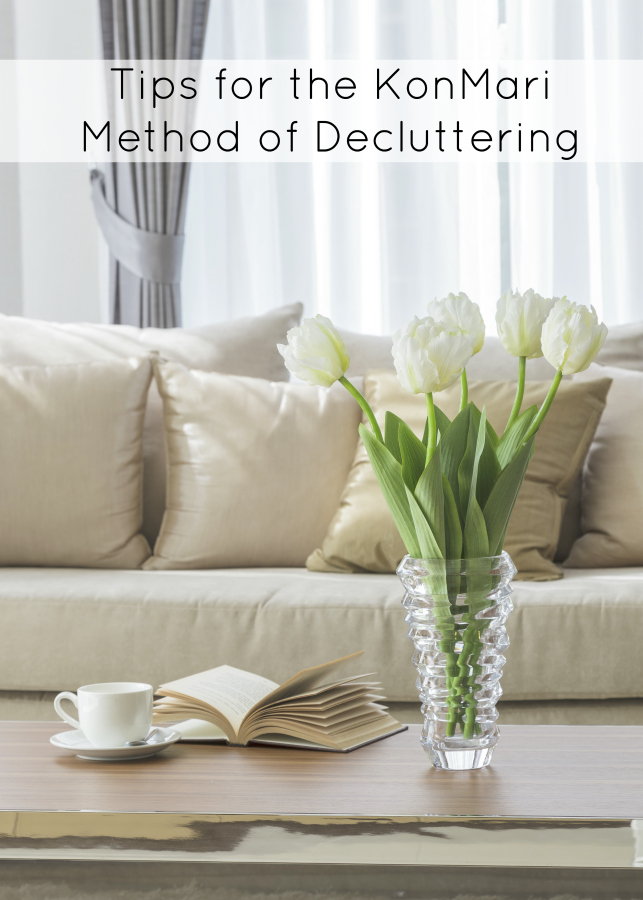Want to declutter? These are some of the best tips for the KonMari method of decluttering to get ya started and inspire you.