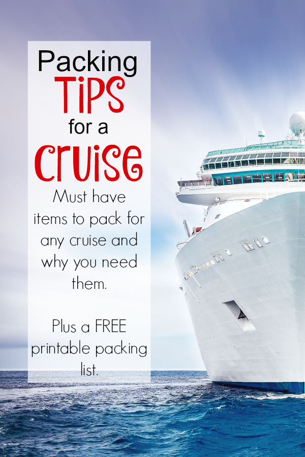 These 26 items are my must have items for any cruise so I'm sharing my essential Packing Tips for a Cruise with y'all. You don't want to over pack, but you'll want all the necessities.