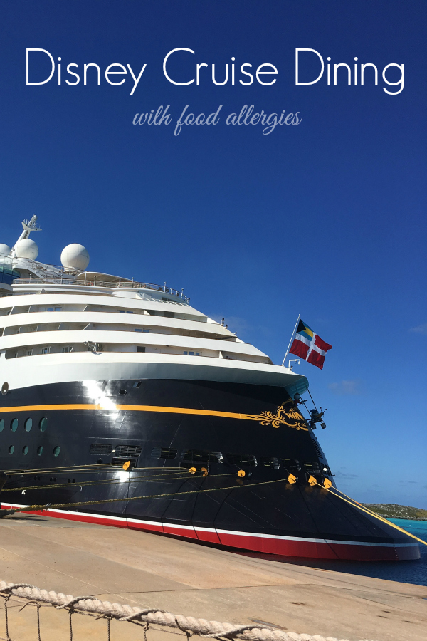 So you want to take a cruise, but you have some food allergies. I've got some tips to How to navigate a Disney Cruise with Food Allergies.