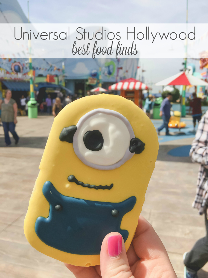 Find out how to do Universal Studios Hollywood in one day plus see my recommendations for treats and allergy friendly food. We had so much eating our way through the park. Keep reading to find out what we thought Universal Studios Hollywood best food finds were.