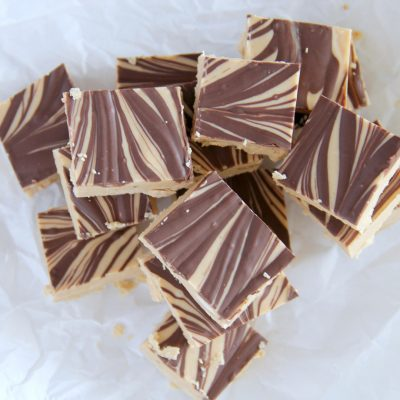 Tiger Butter Fudge