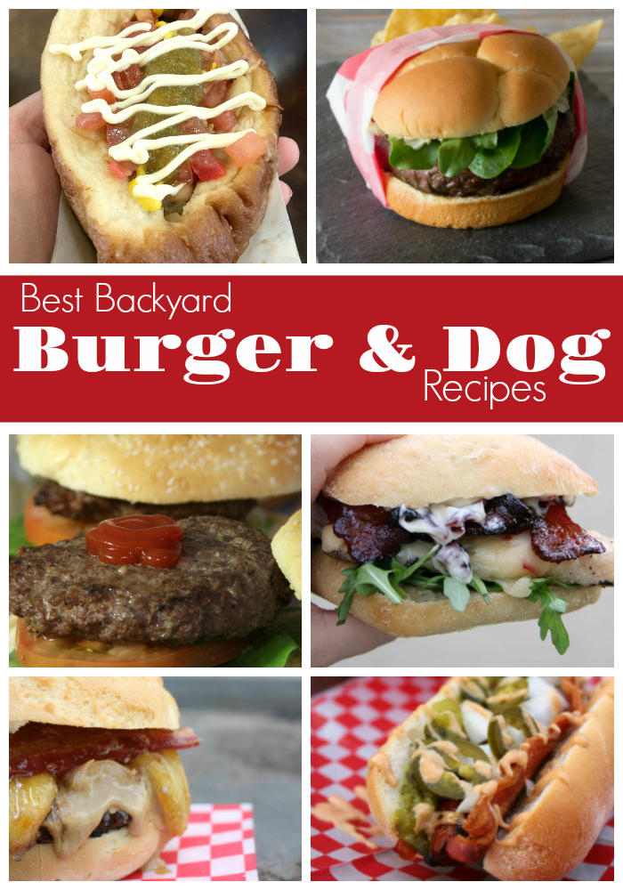 Summer is grilling season! Fire up the grill for the Best Backyard Burger & Dog Recipes you'll find.
