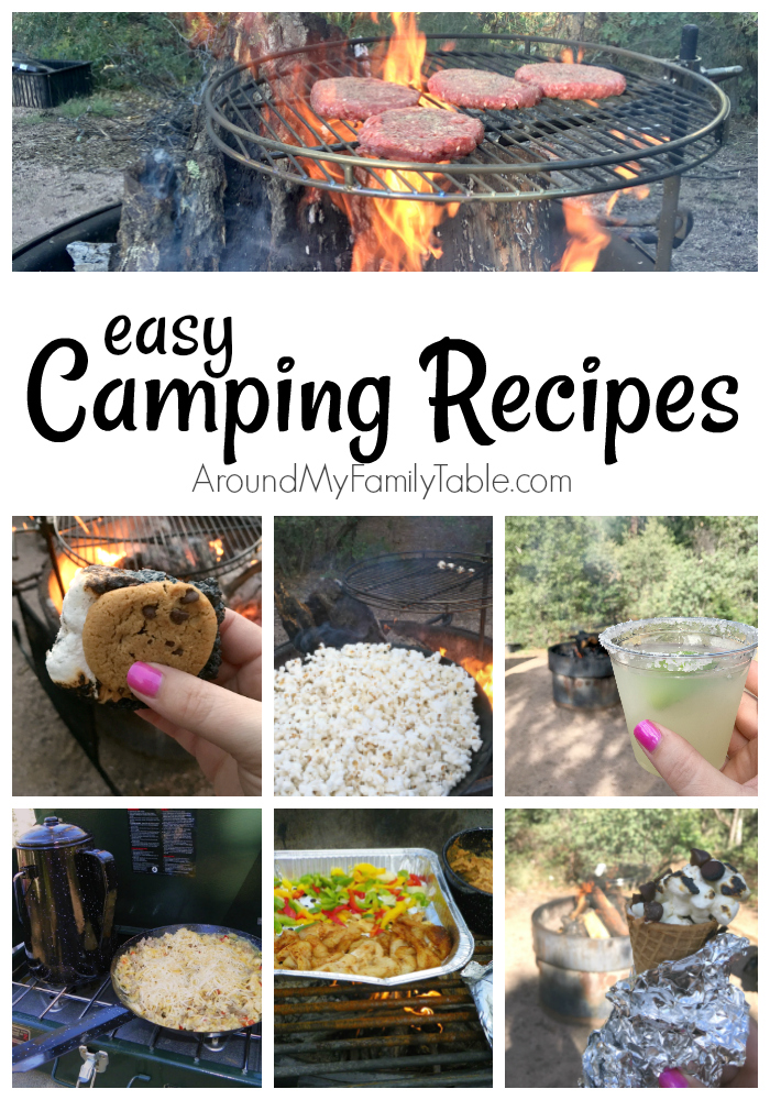 Your next family camping trip will be less stressful and a whole lot tastier with these easy camping recipes.