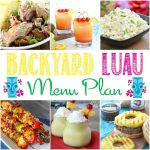 Backyard Luau Menu Plan