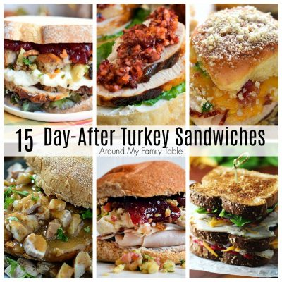Delicious Day-After Thanksgiving Sandwiches