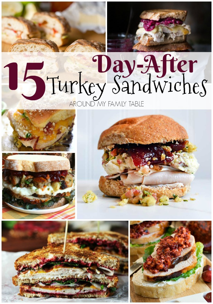 Got leftover turkey? Check out my holiday leftover hacks and make these delicious day-after Thanksgiving sandwiches.