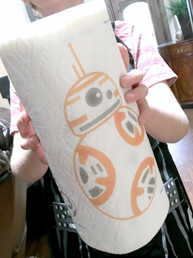 Star Wars Bounty Paper Towels
