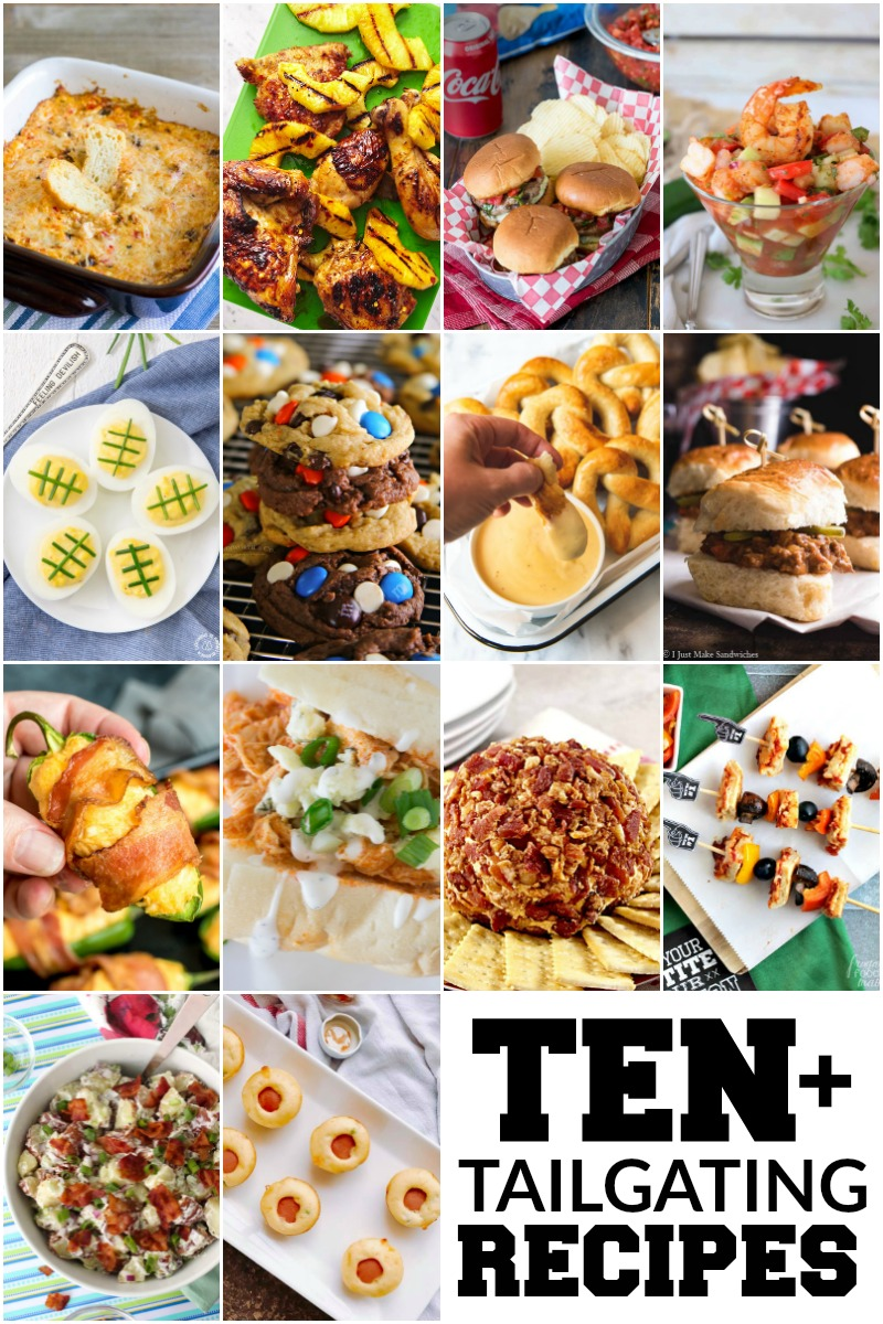 Check out these great tailgating recipes...just in time for football season!