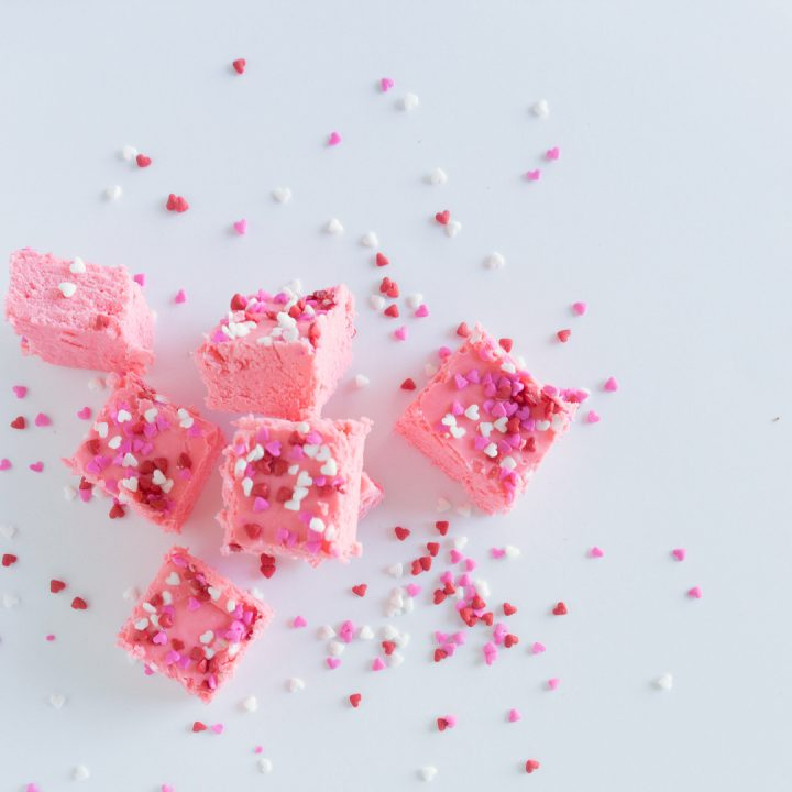 Make this quick Valentine's Day Fudge for your sweetie this February. It has only 3 ingredients and ready in no time at all!