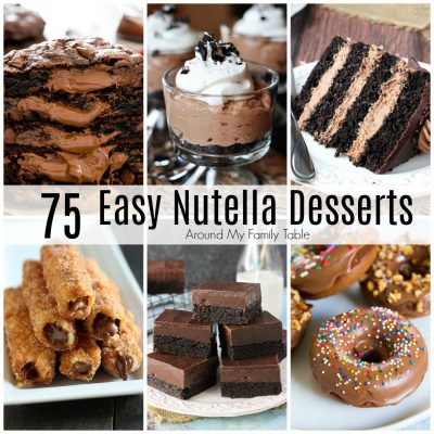 75 Nutella Dessert Recipes