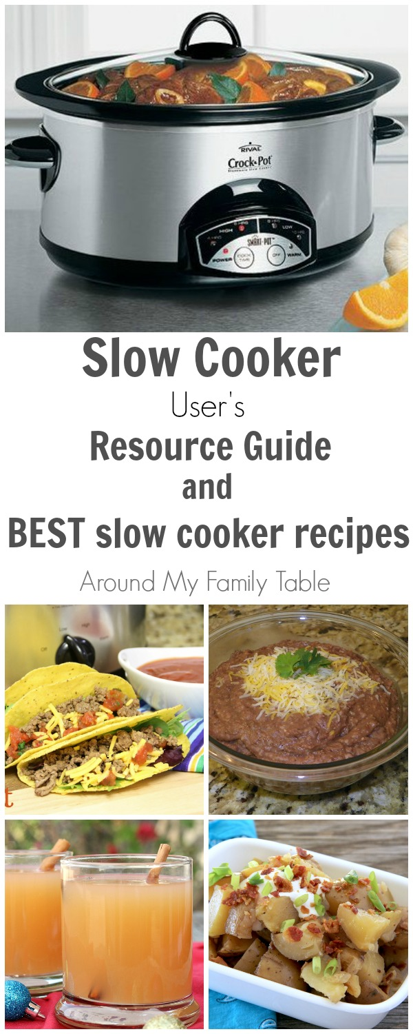 slow cooker user's resource guide image