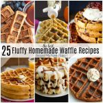 The Best Homemade Waffle Recipes for the Weekend